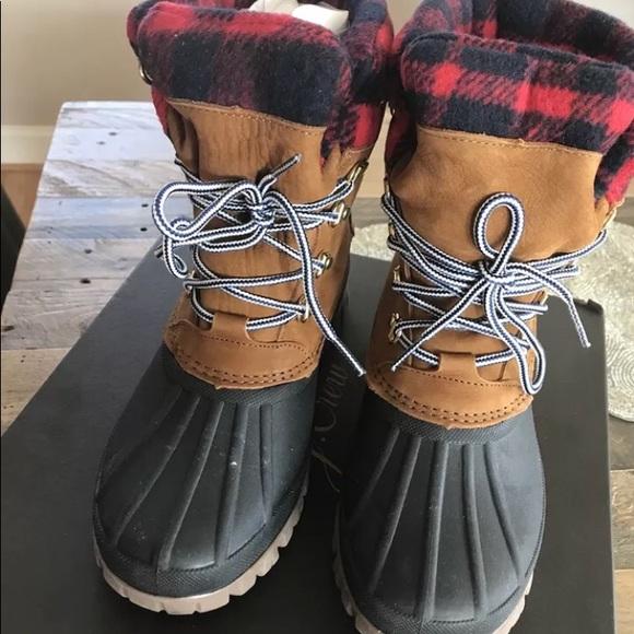 3a72d472a19 J Crew perfect winter boot 9 NWT